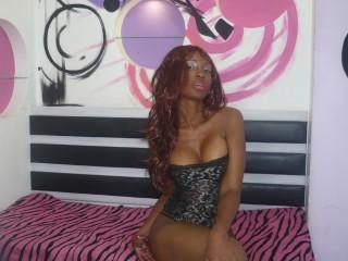 ChocoDiva hot ebony babe in webcam chat